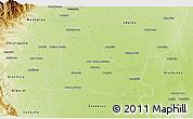 Physical 3D Map of Simoca