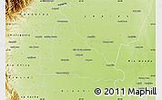 Physical Map of Simoca