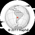 Outline Map of Simoca