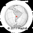 Outline Map of Trancas