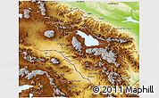 Physical 3D Map of Armenia