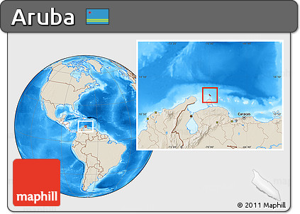 Free shaded relief location map of aruba highlighted continent highlighted continent shaded relief location map of aruba highlighted continent publicscrutiny Choice Image