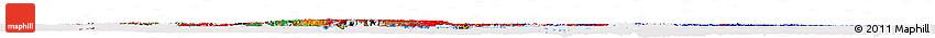 Flag Horizon Map of Asia