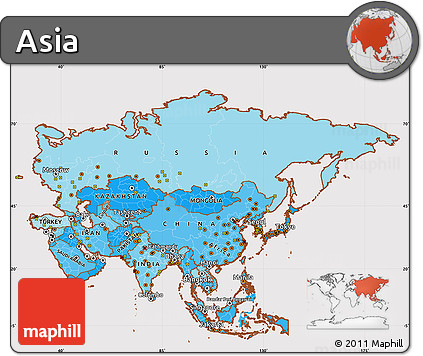 political shades simple map of asia cropped outside