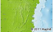 Physical Map of Bontang