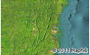 Satellite Map of Bontang