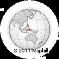 Outline Map of Lifofa, rectangular outline