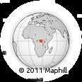 Outline Map of Pene-Katanga, rectangular outline