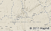 """Shaded Relief Map of the area around 0°10'31""""N,28°7'30""""E"""