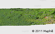 Satellite Panoramic Map of Busega