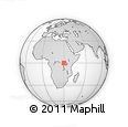 Outline Map of Manduli, rectangular outline