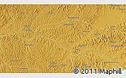 Physical 3D Map of Lwannunda