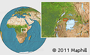 """Satellite Location Map of the area around 0°10'31""""N,31°31'29""""E"""