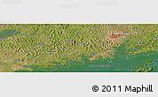 "Satellite Panoramic Map of the area around 0°10'31""N,32°22'30""E"