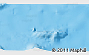 """Physical 3D Map of the area around 0°10'31""""N,89°10'30""""W"""