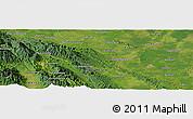 Satellite Panoramic Map of Pagaranpandang