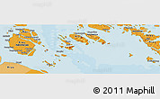 """Political Panoramic Map of the area around 0°42'2""""N,103°46'30""""E"""