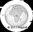 Outline Map of Yabwesu, rectangular outline