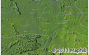 "Satellite Map of the area around 0°42'2""N,28°58'30""E"