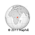 Outline Map of Masuliita, rectangular outline