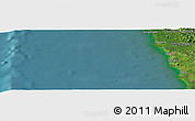 "Satellite Panoramic Map of the area around 0°42'2""N,98°40'30""E"