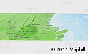 Political Panoramic Map of Samarinda