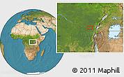 "Satellite Location Map of the area around 0°21'0""S,28°7'30""E"