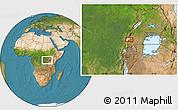 "Satellite Location Map of the area around 0°21'0""S,29°49'30""E"