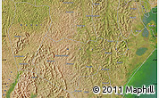 Satellite Map of Kabale