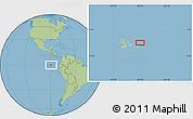 "Savanna Style Location Map of the area around 0°21'0""S,89°10'30""W"