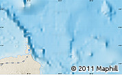 """Shaded Relief Map of the area around 0°21'0""""S,90°1'30""""W"""