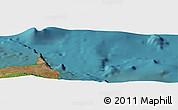"Satellite Panoramic Map of the area around 0°21'0""S,90°1'30""W"