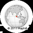 Outline Map of Hilibafunuo, rectangular outline