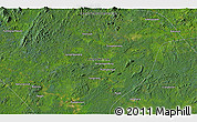 """Satellite 3D Map of the area around 0°52'31""""S,113°58'29""""E"""