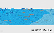 """Political Panoramic Map of the area around 0°52'31""""S,113°58'29""""E"""
