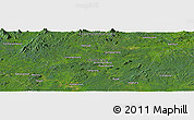 "Satellite Panoramic Map of the area around 0°52'31""S,113°58'29""E"