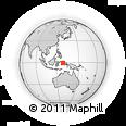 Outline Map of Paspaleleh, rectangular outline