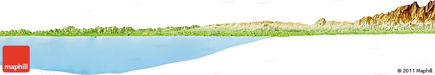 Physical Horizon Map of Magamo