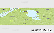 Physical Panoramic Map of Mooto