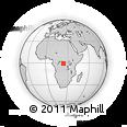 Outline Map of Limasikotema, rectangular outline
