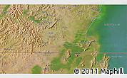 Satellite 3D Map of Kyotera