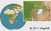 "Satellite Location Map of the area around 0°52'31""S,31°31'29""E"