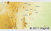 Physical 3D Map of Kalimbui