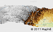 """Physical Panoramic Map of the area around 0°52'31""""S,78°7'30""""W"""