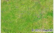 "Satellite Map of the area around 10°7'21""N,0°4'30""E"