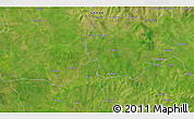 """Satellite 3D Map of the area around 10°7'21""""N,0°46'30""""W"""