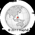 Outline Map of Puerto Princesa, rectangular outline