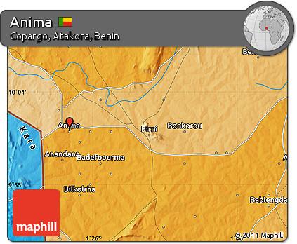 Political Map of Anima