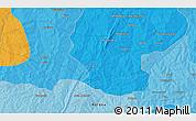 Political 3D Map of Gbessi