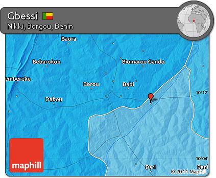 Political Map of Gbessi